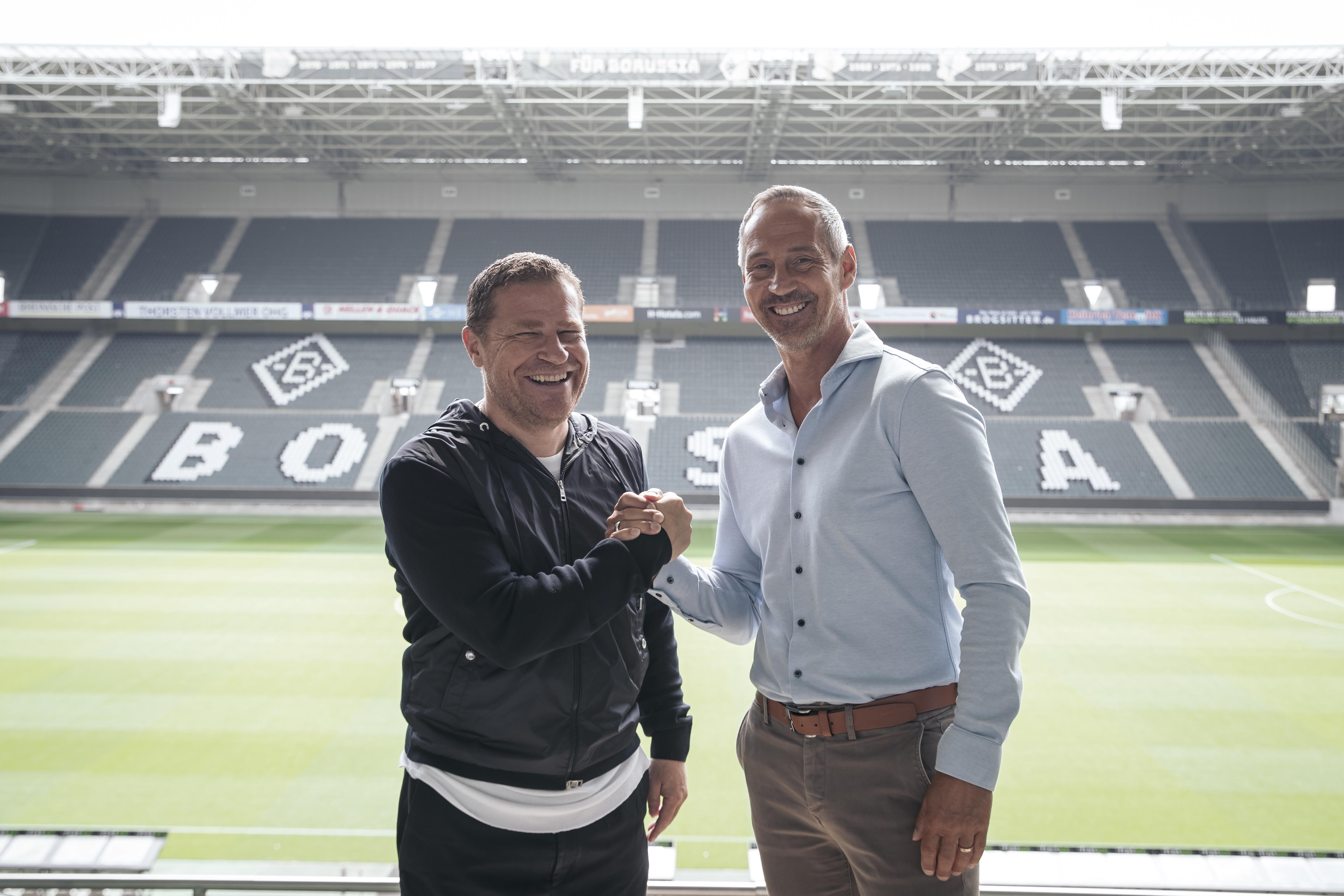 Borussia Mönchengladbach Unveils New Head Coach Adi Hütter