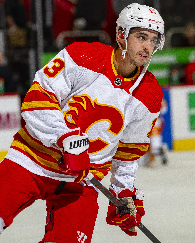 """Calgary Flames v Detroit Red Wings""""n"""