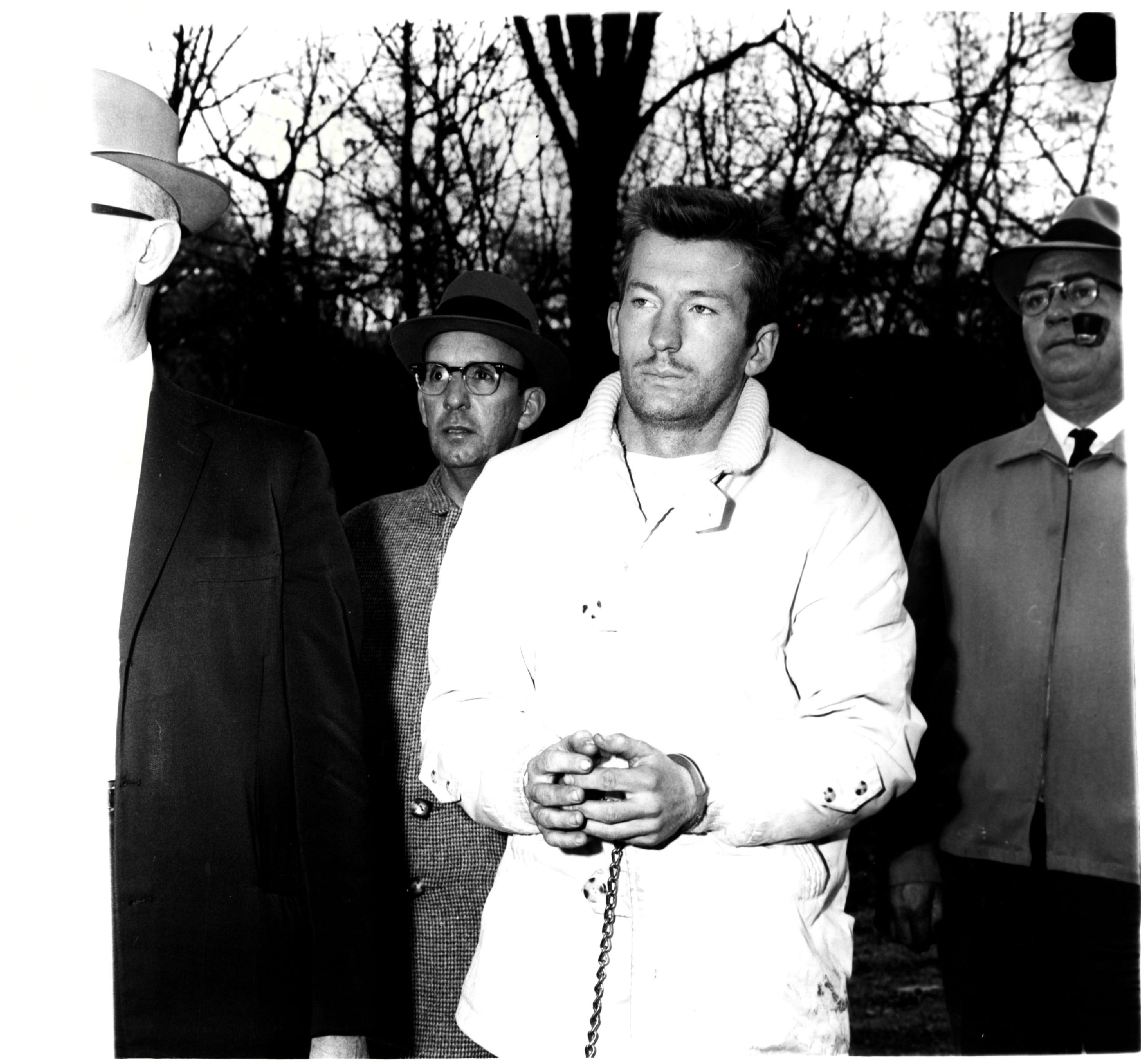 Chester Weger in 1960 at Starved Rock State Park.