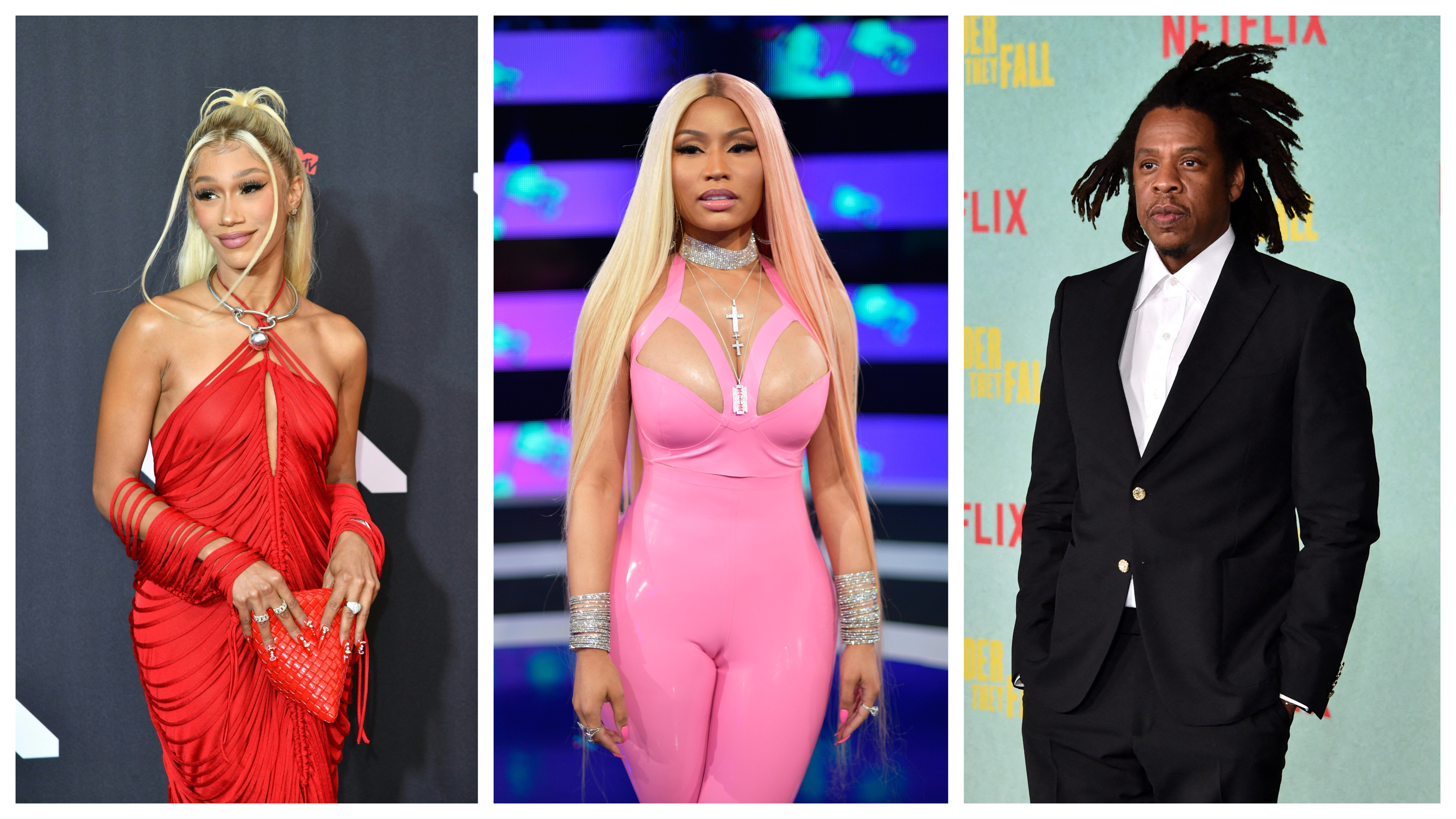 BIA. Nicki Minaj, JAY-Z