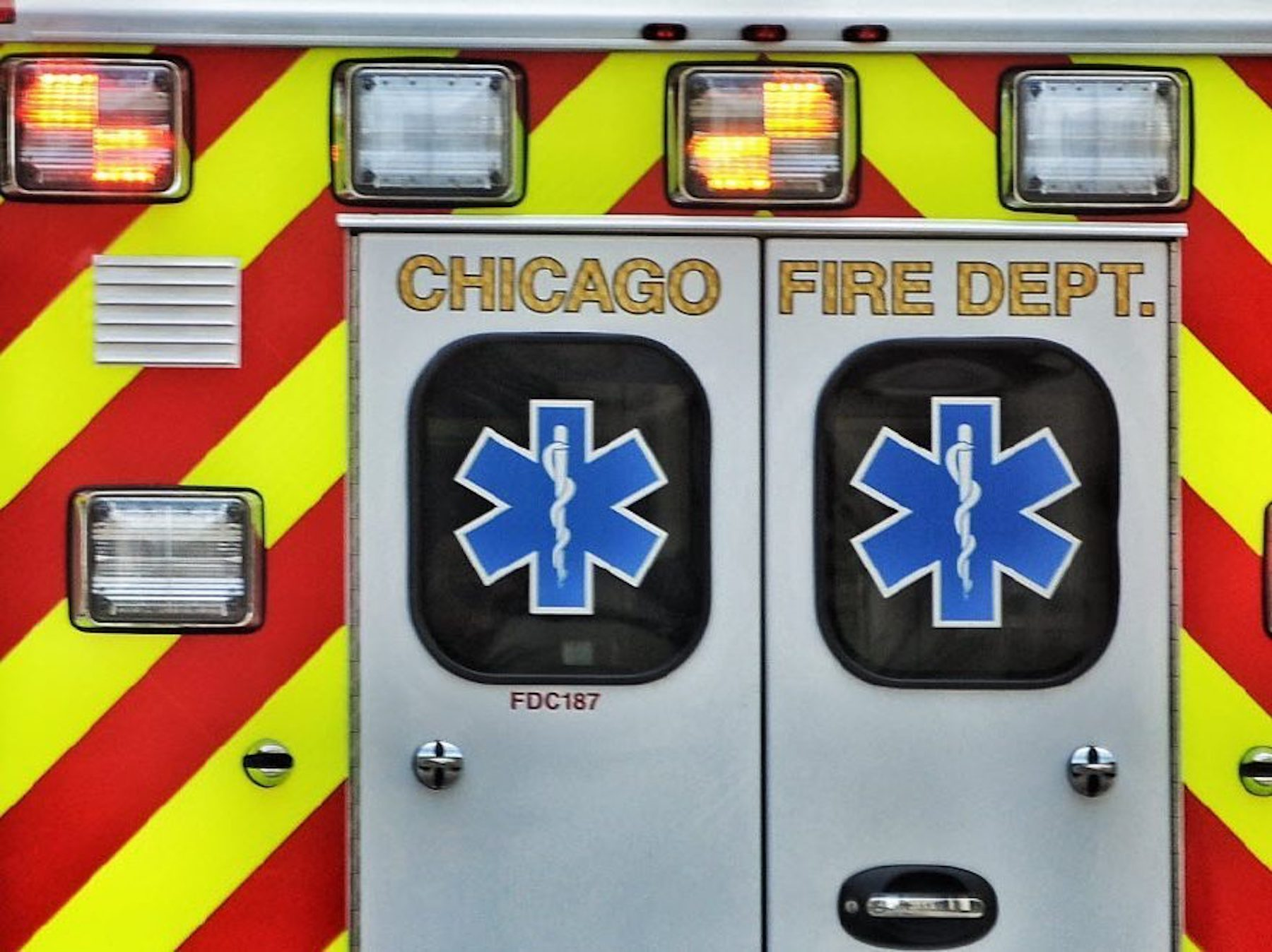 A bicyclist was run over October 27, 2021 in Streeterville.