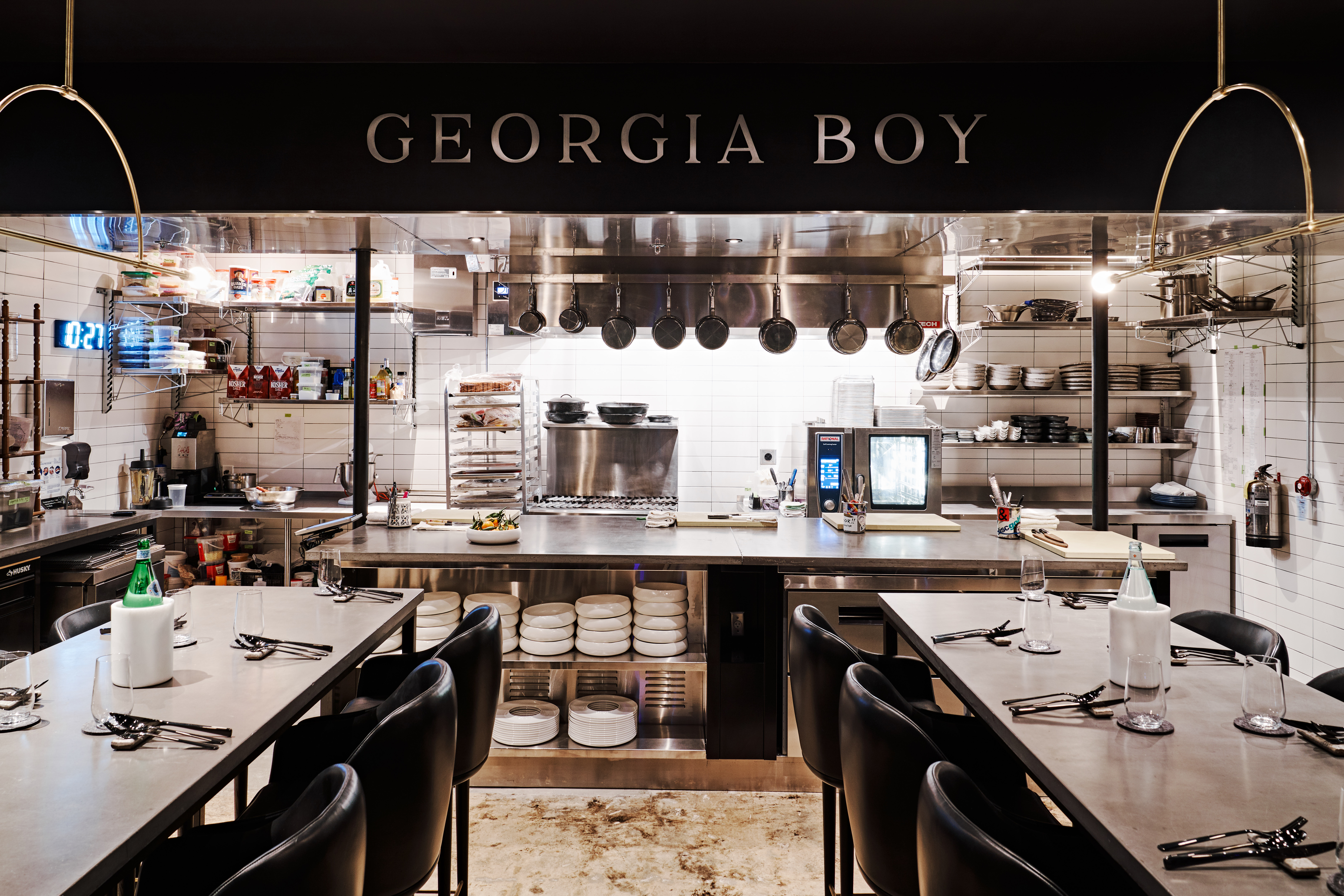 After being closed since March 2020, tasting menu restaurant Georgia Boy reopens in Poncey-Highland December 2 in Atlanta.