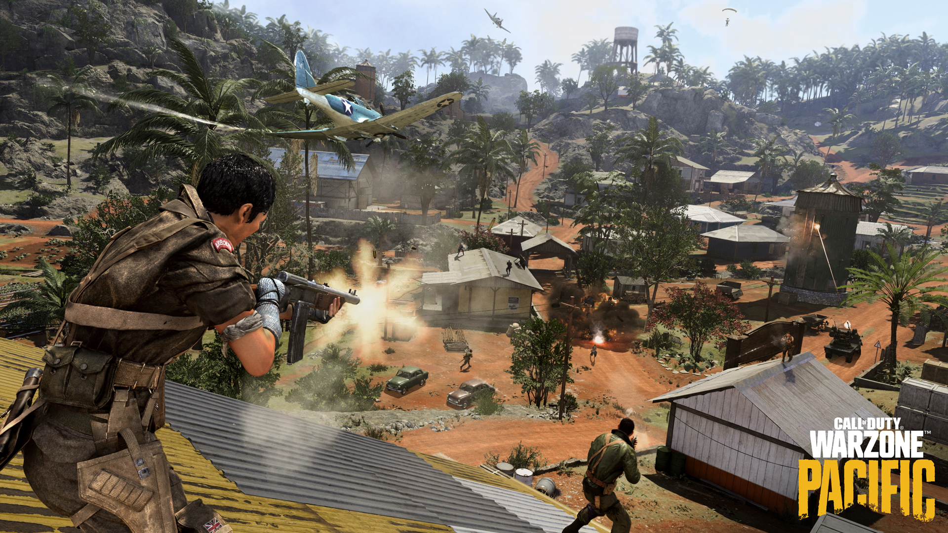 Call of Duty: Warzone players fighting on Caldera