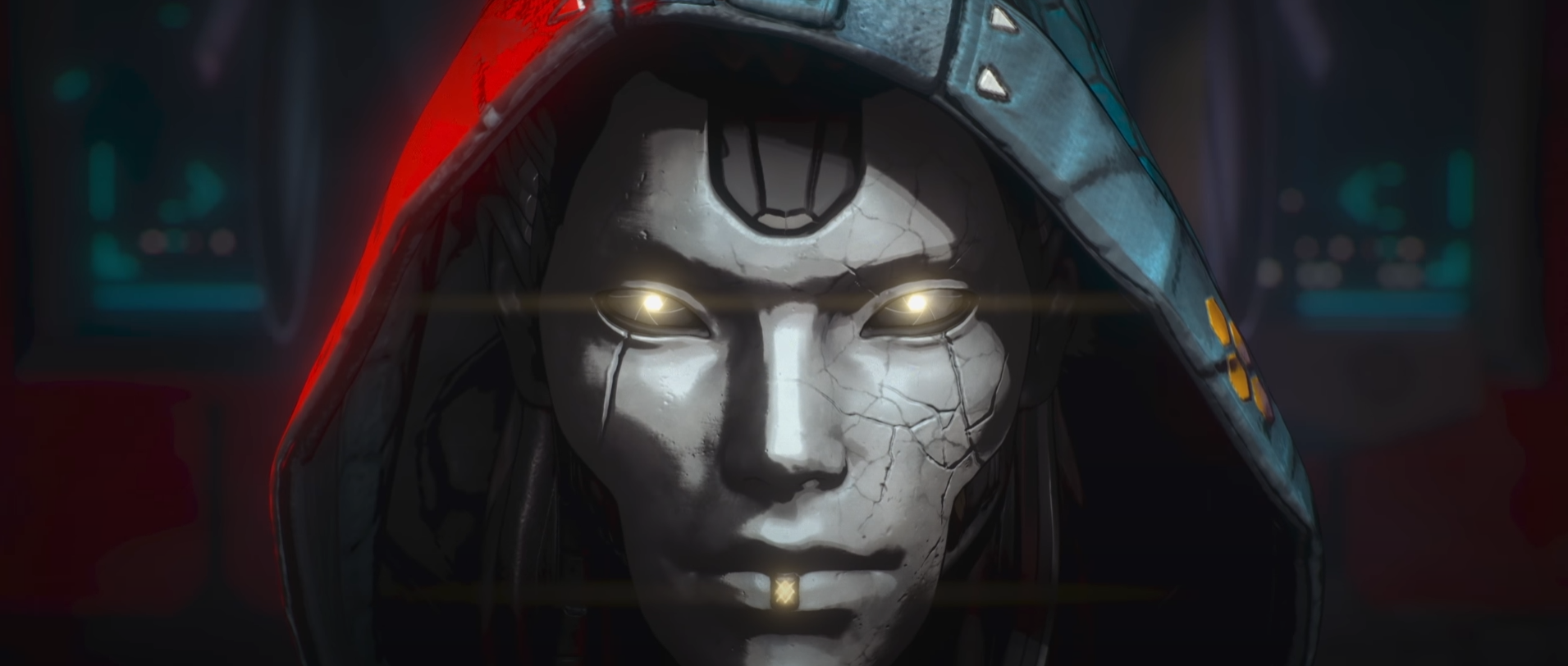 Ash from Titanfall in an Apex Legends teaser trailer