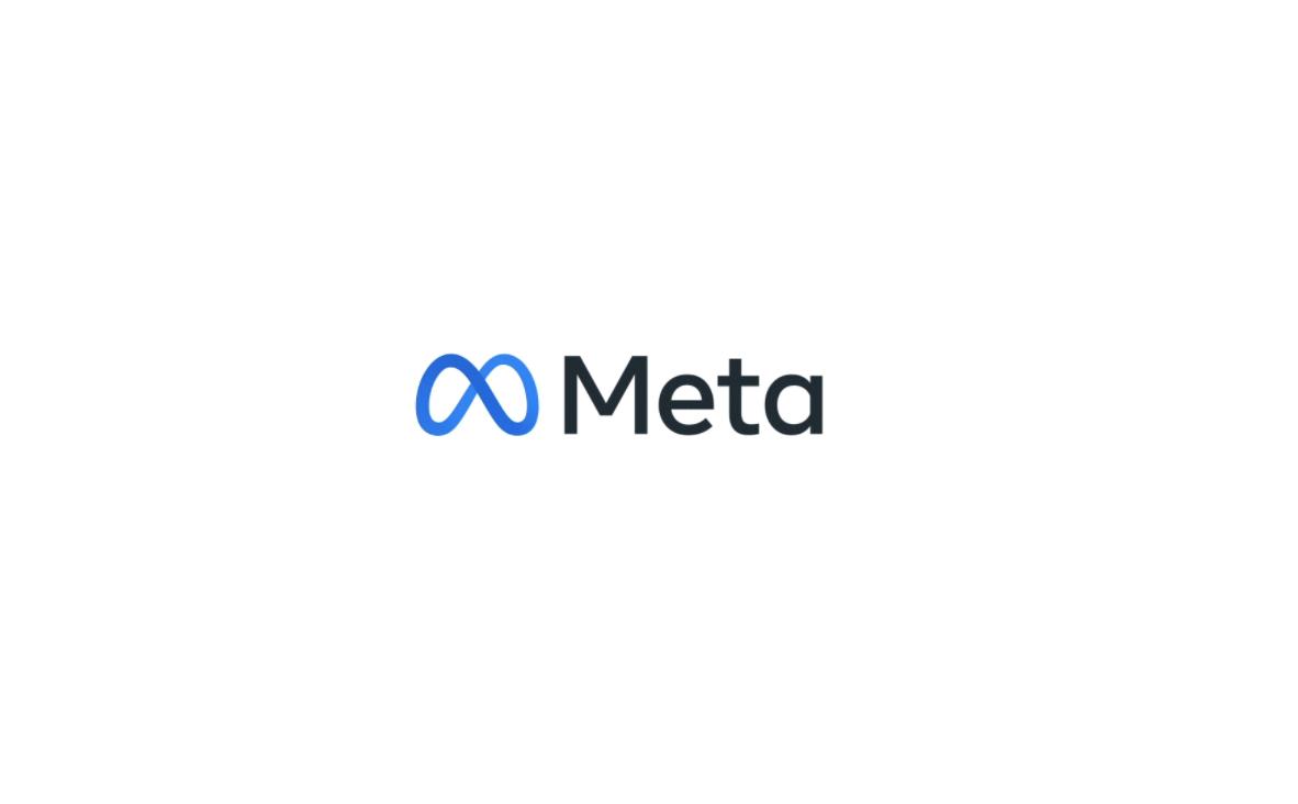 Photo of Facebook's new name, Meta.