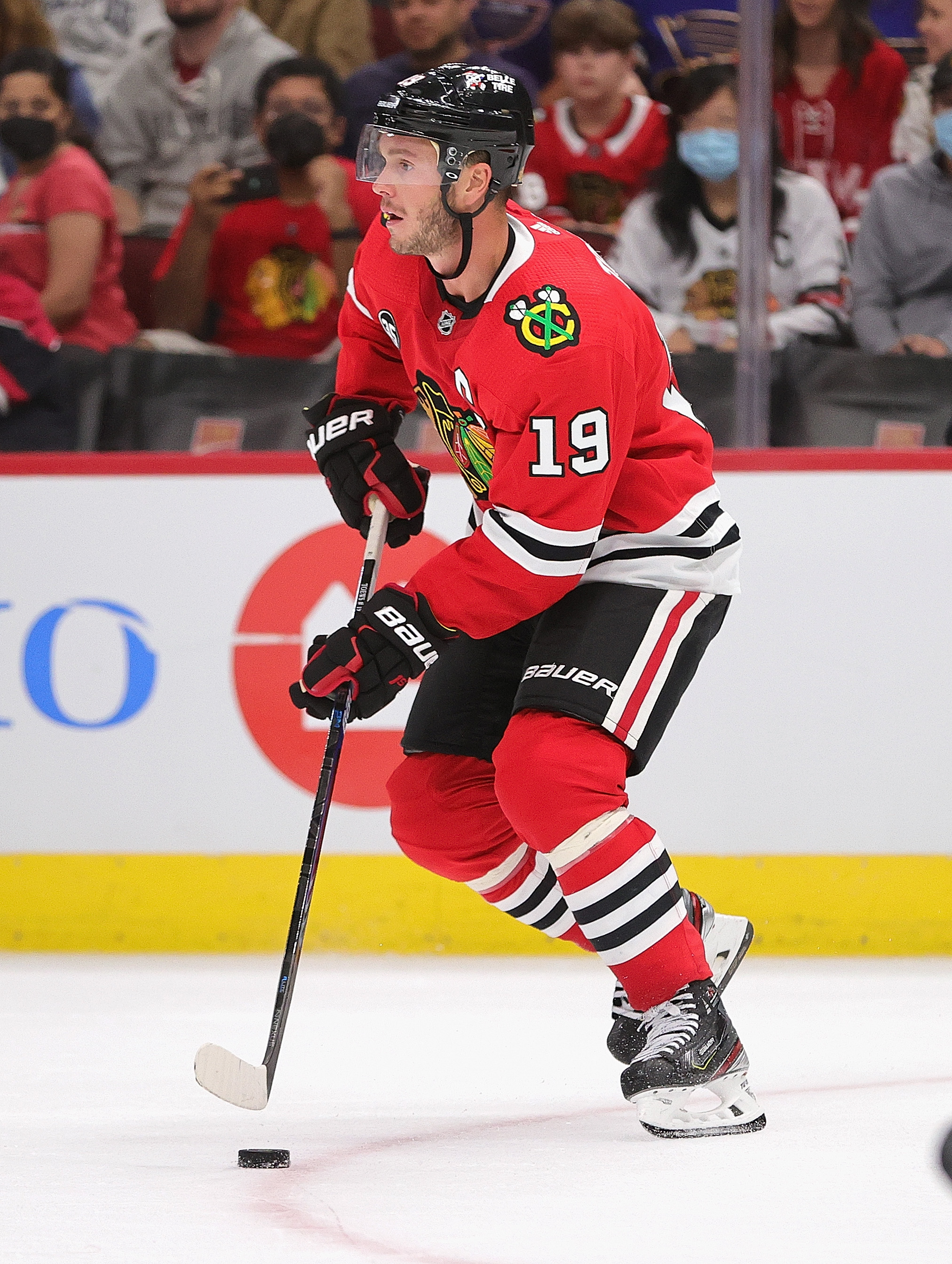 Jonathan Toews addressed the media Wednesday about the Blackhawks sexual assault scandal.