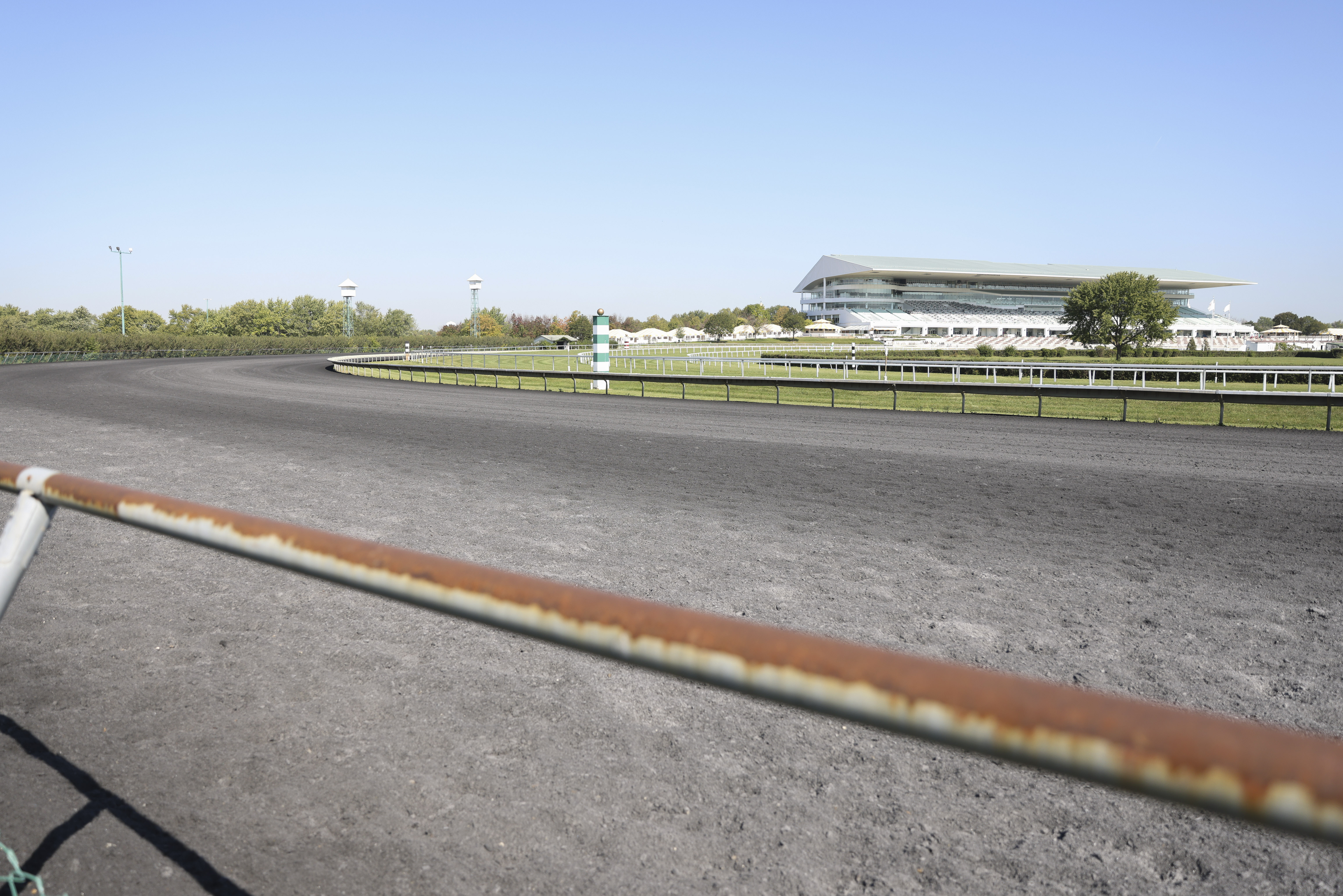 Arlington International Racecourse at 2200 Euclid Ave. in Arlington Heights. The Chicago Bears have a deal to purchase the 326-acre parcel.