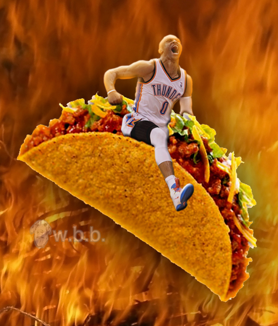 Taco pain.