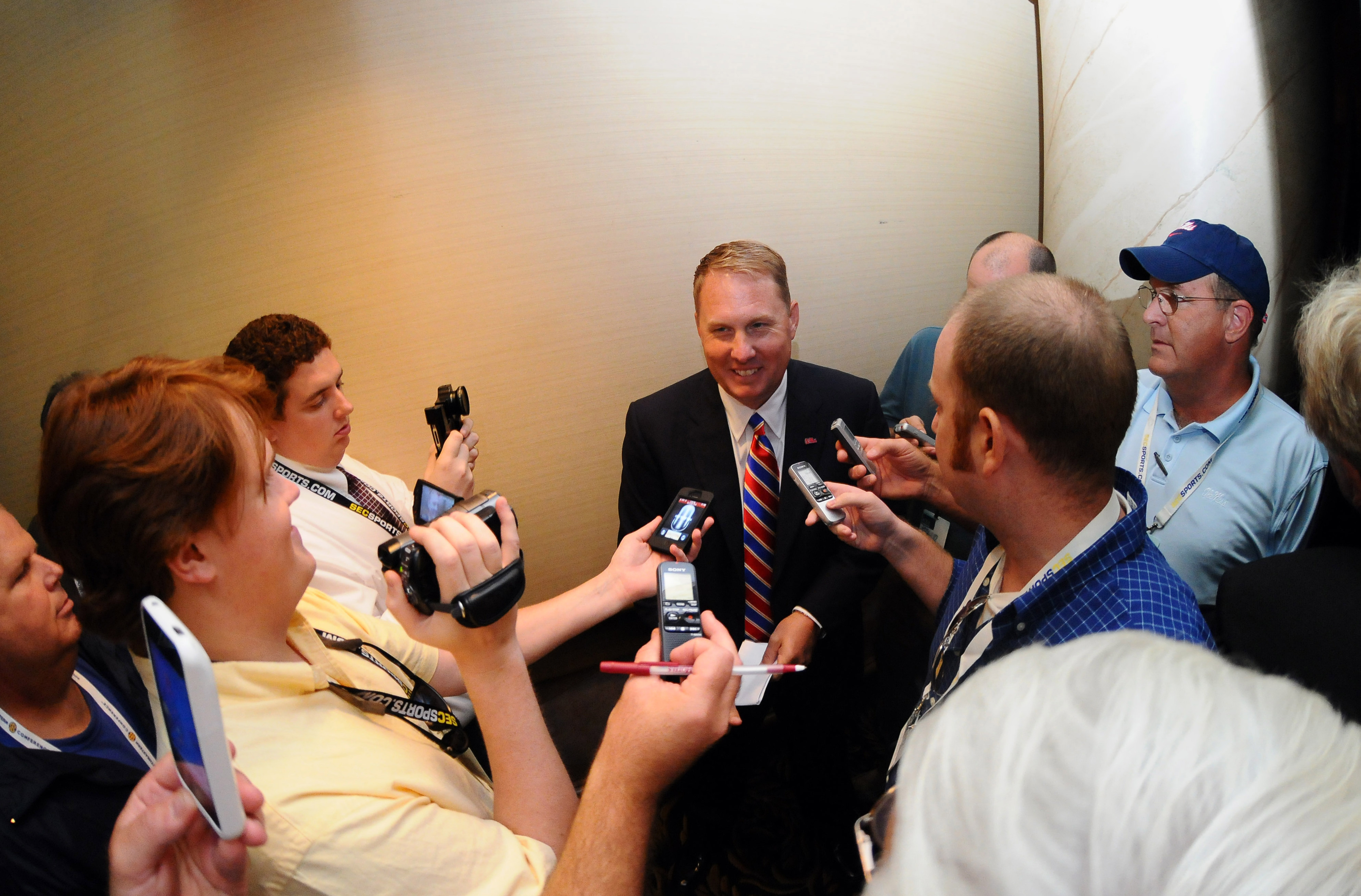 Attention will be on Hugh Freeze on National Signing Day, and for good reason.