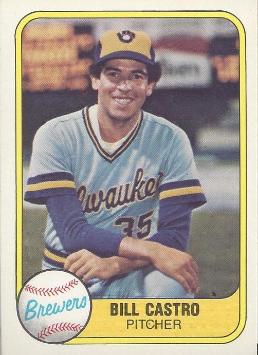 Castro's 1981 Fleer card, #517