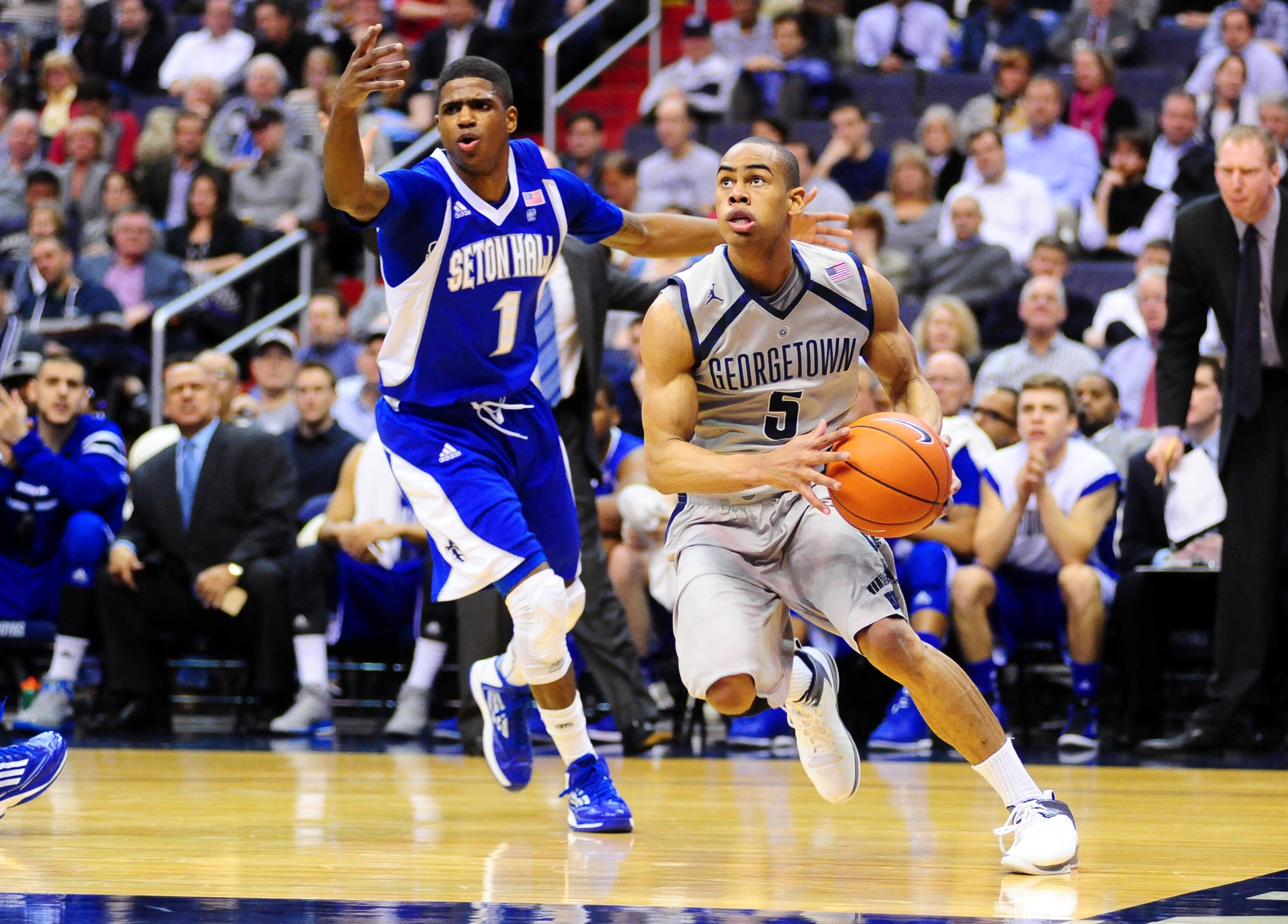 Markel Starks has led the Hoyas back into the Top 25