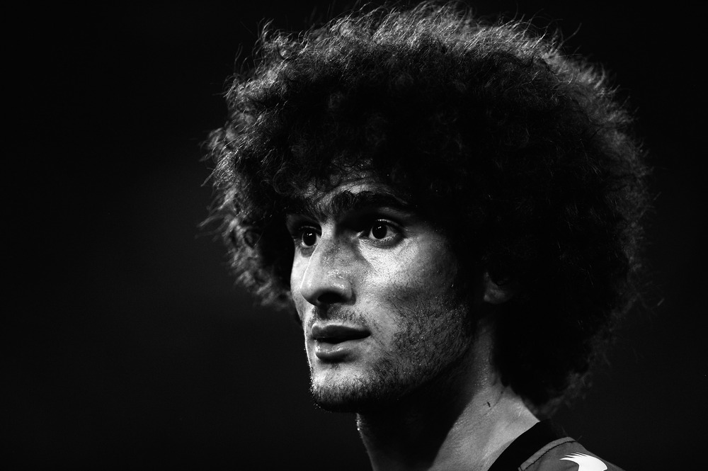 This man doesn't 'head' the ball, he 'hairs' it.