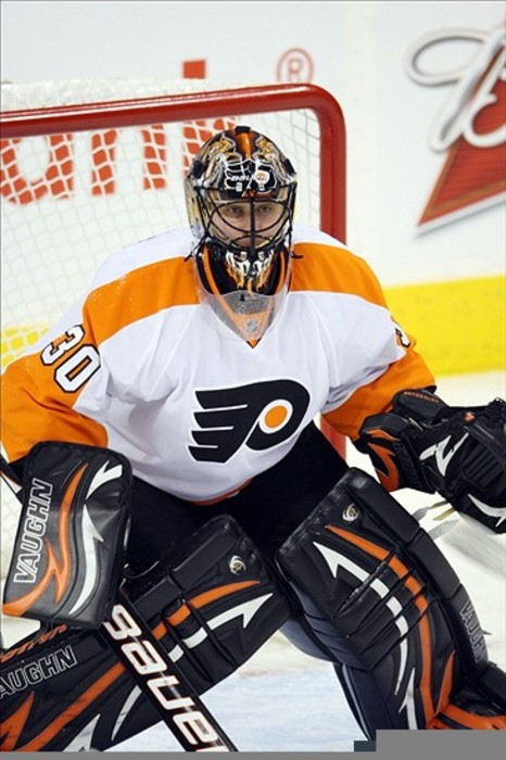 Flyers #1 goalie Ilya Bryzgalov is playing remarkably well despite his record.