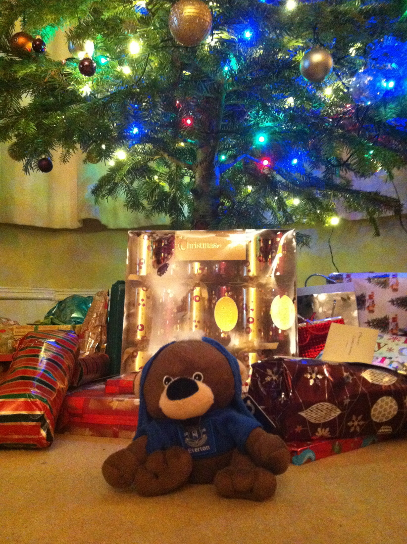 Tony's journey began at Christmas