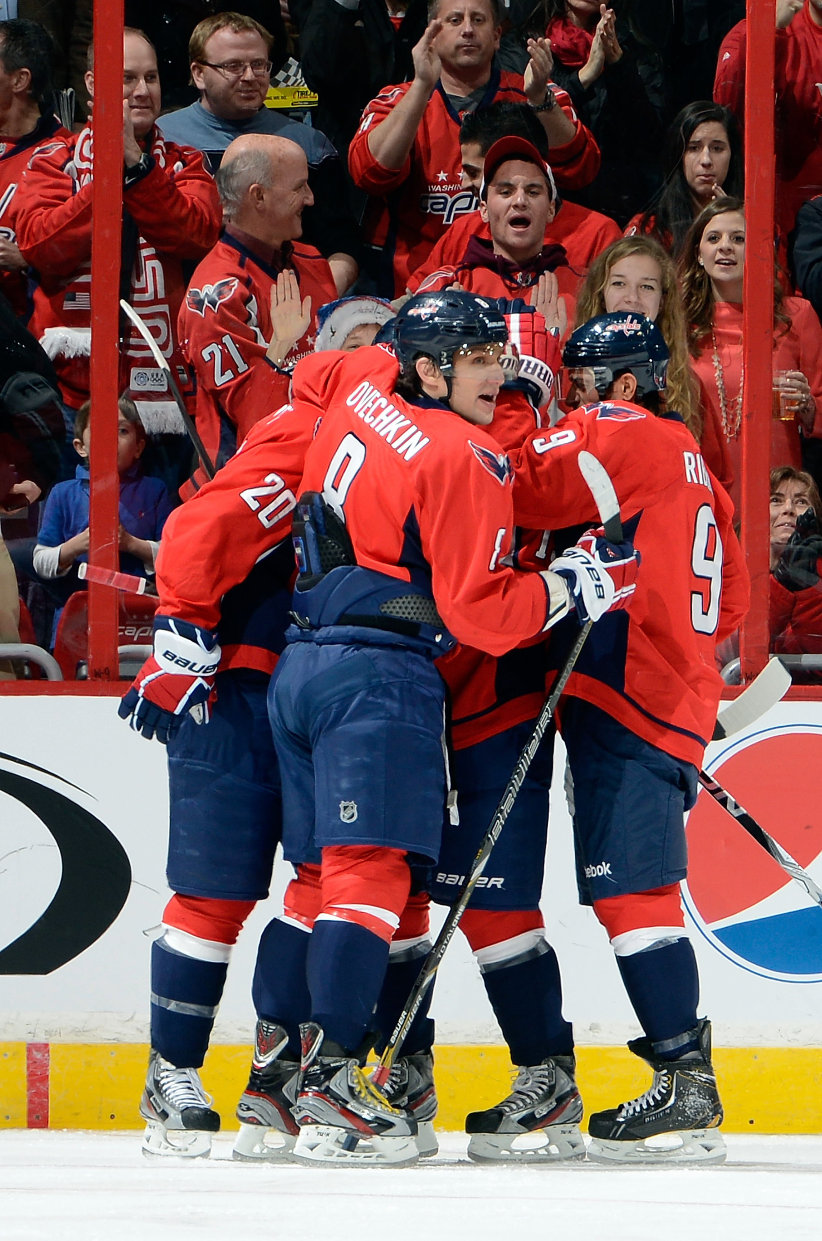 Are Happy Days here again? Despite their rousing win over the Panthers last night, the Caps remain at the bottom of the standings.