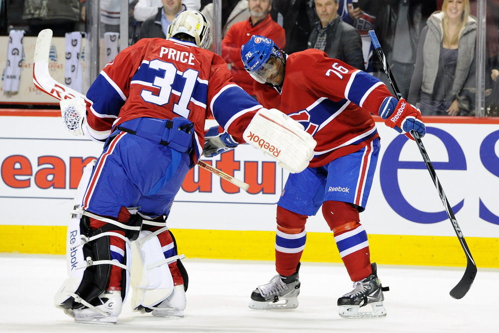 We may not be treated again to the now-banished Triple Low Five, but Price and Subban remain the dynamic duo for the Canadiens.