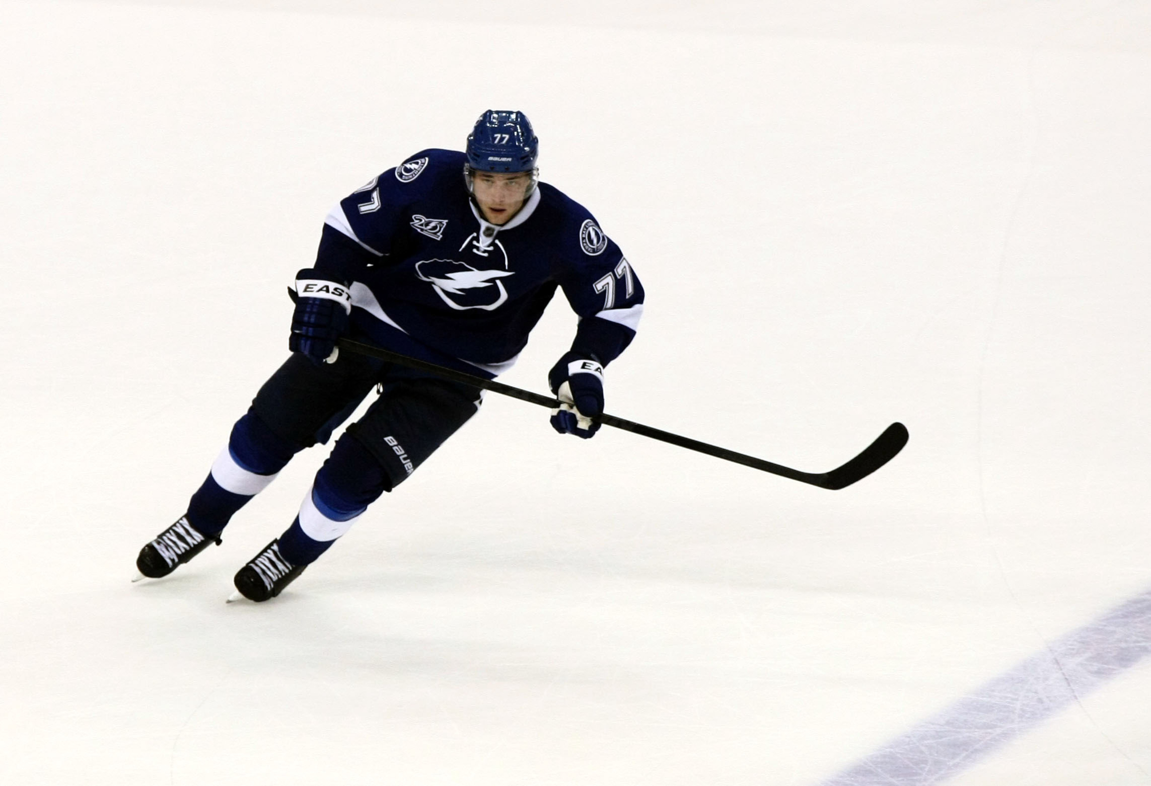 Victor Hedman, who played in the KHL during the 2012 NHL lockout, was one of Tampa Bay's best players against the Montreal Canadiens.