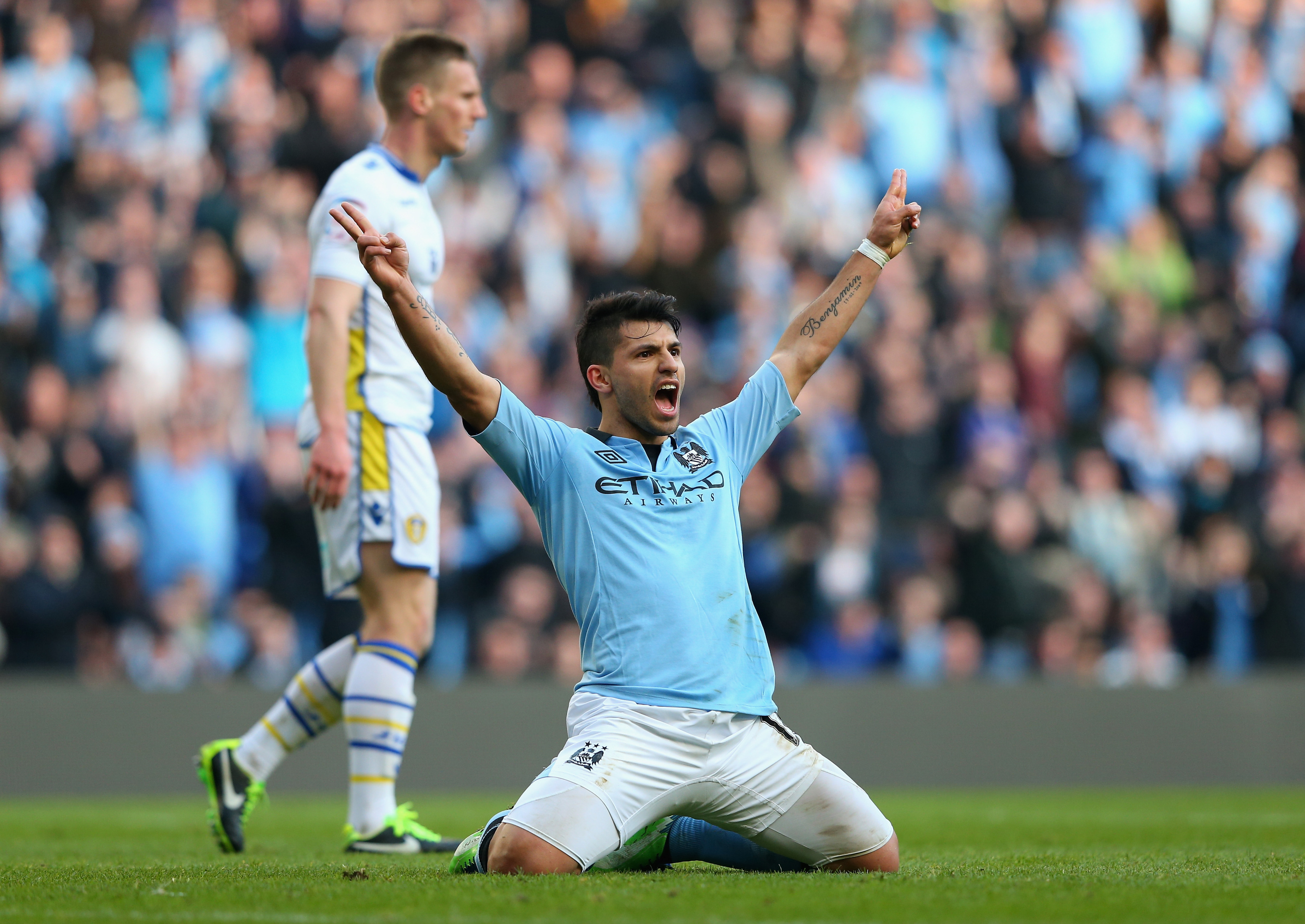Easy does it for Man City at the Etihad against Leeds United.