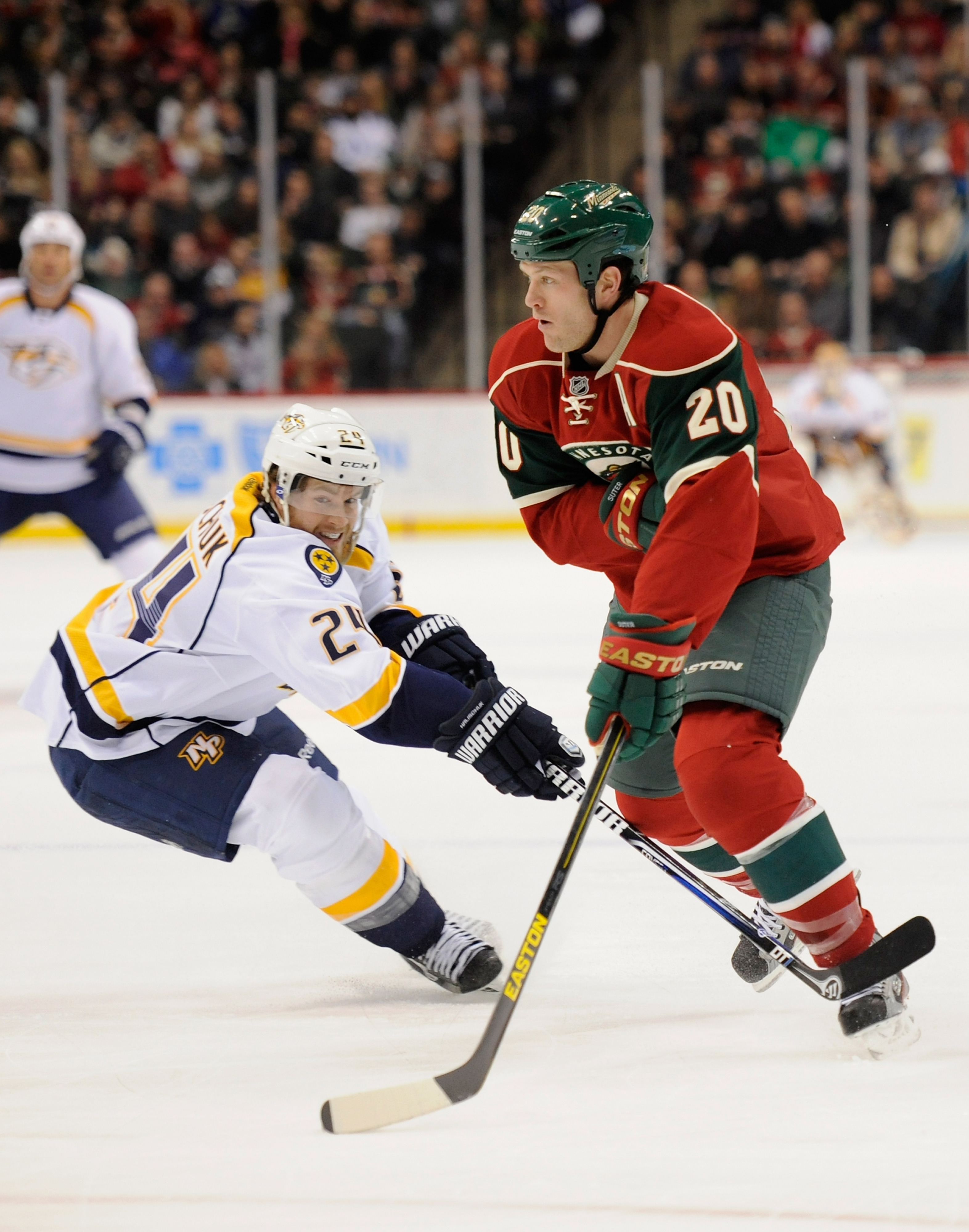 Under the proposed realignment, the Minnesota Wild could become a major rival for Nashville.