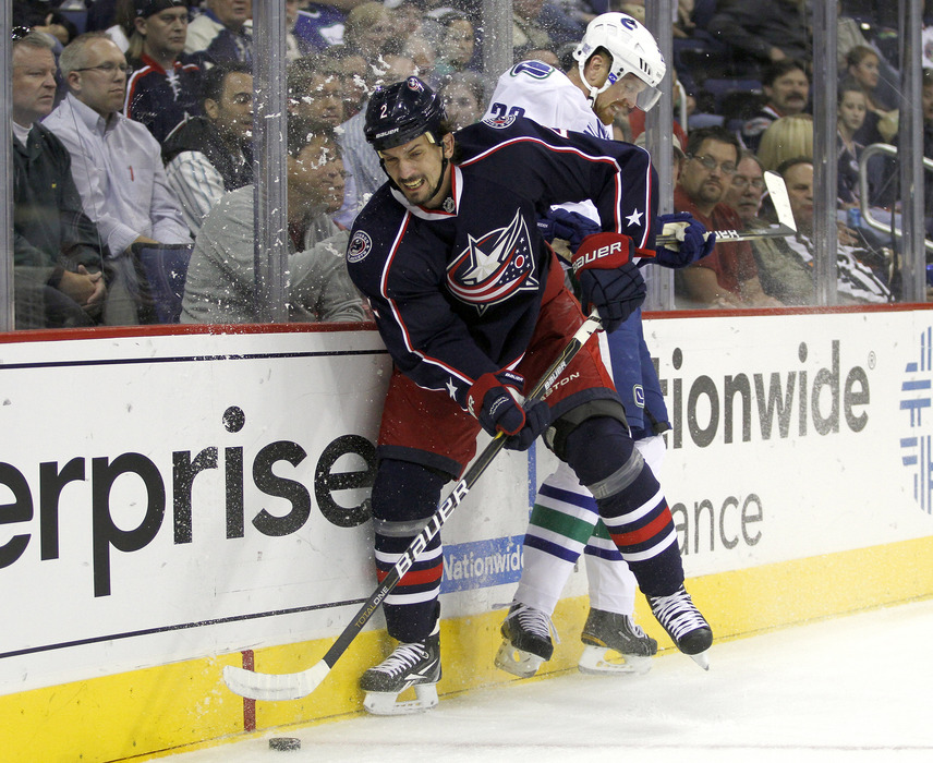 Under one proposal, Radek Martinek and the Blue Jackets would... wait, what? That happened?