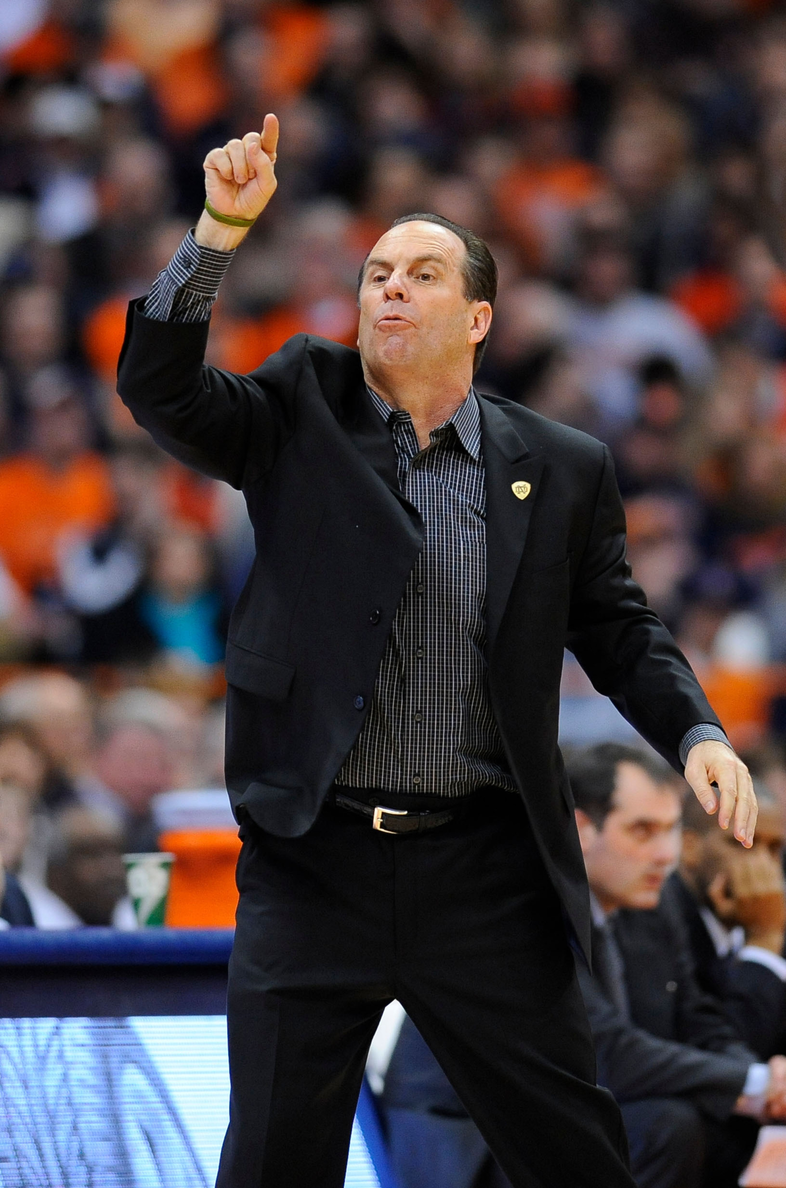 Am I crazy, or does Mike Brey look an awful lot like Bo Ryan in this picture?