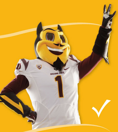 The new design for the iconic Sparky.