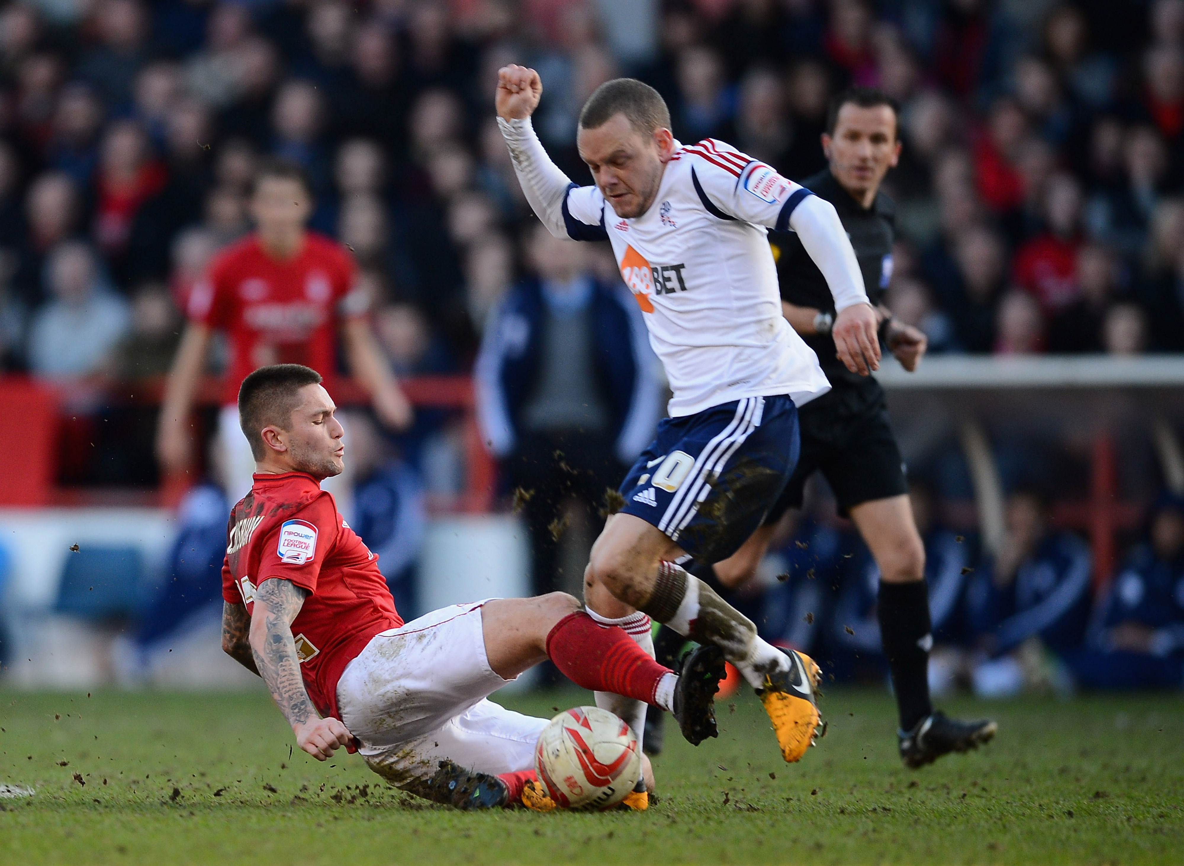 We usually don't think of Jay Spearing as having golden boots...