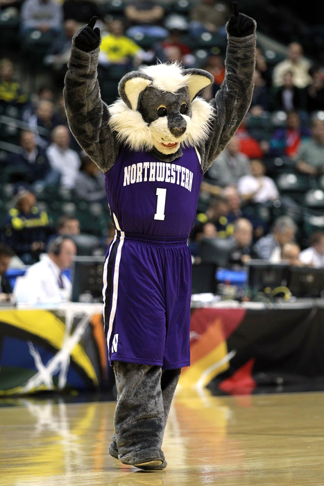 SB Nation has no photos of NU women's basketball, so this one of Willie will have to suffice.