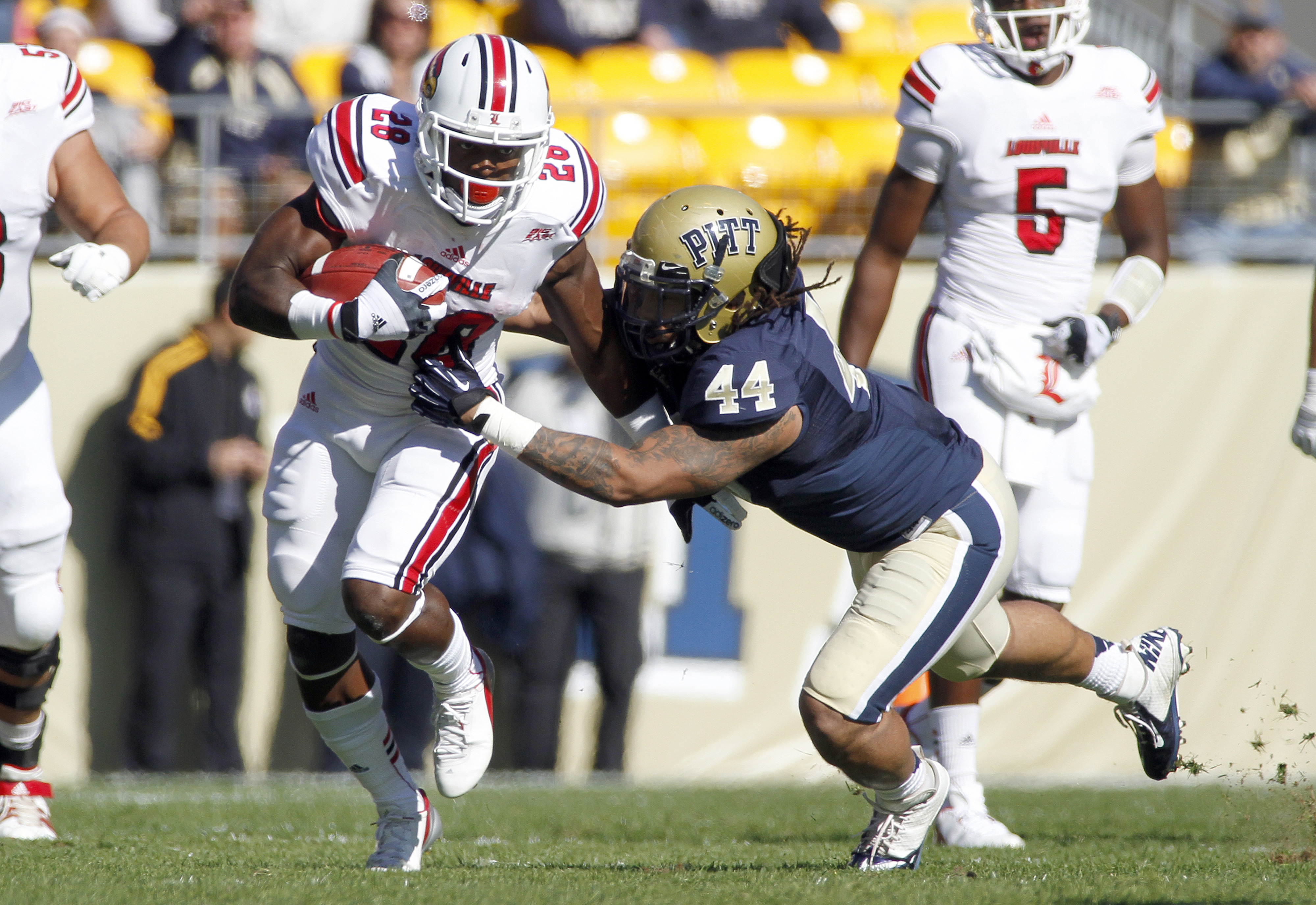 Pitt's Shane Gordon could be out for the season.