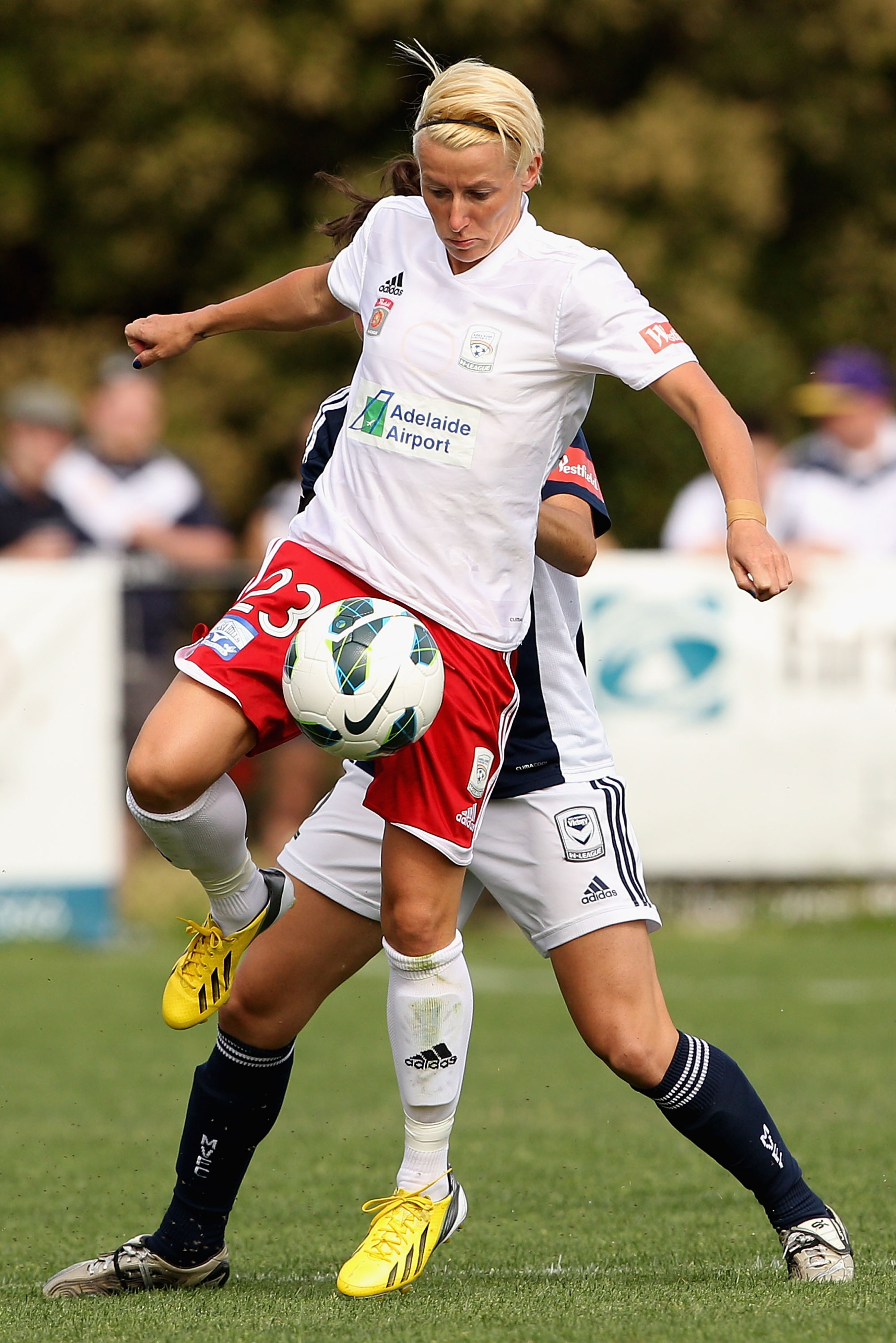 Kristy Moore is joining the Strikers this season.