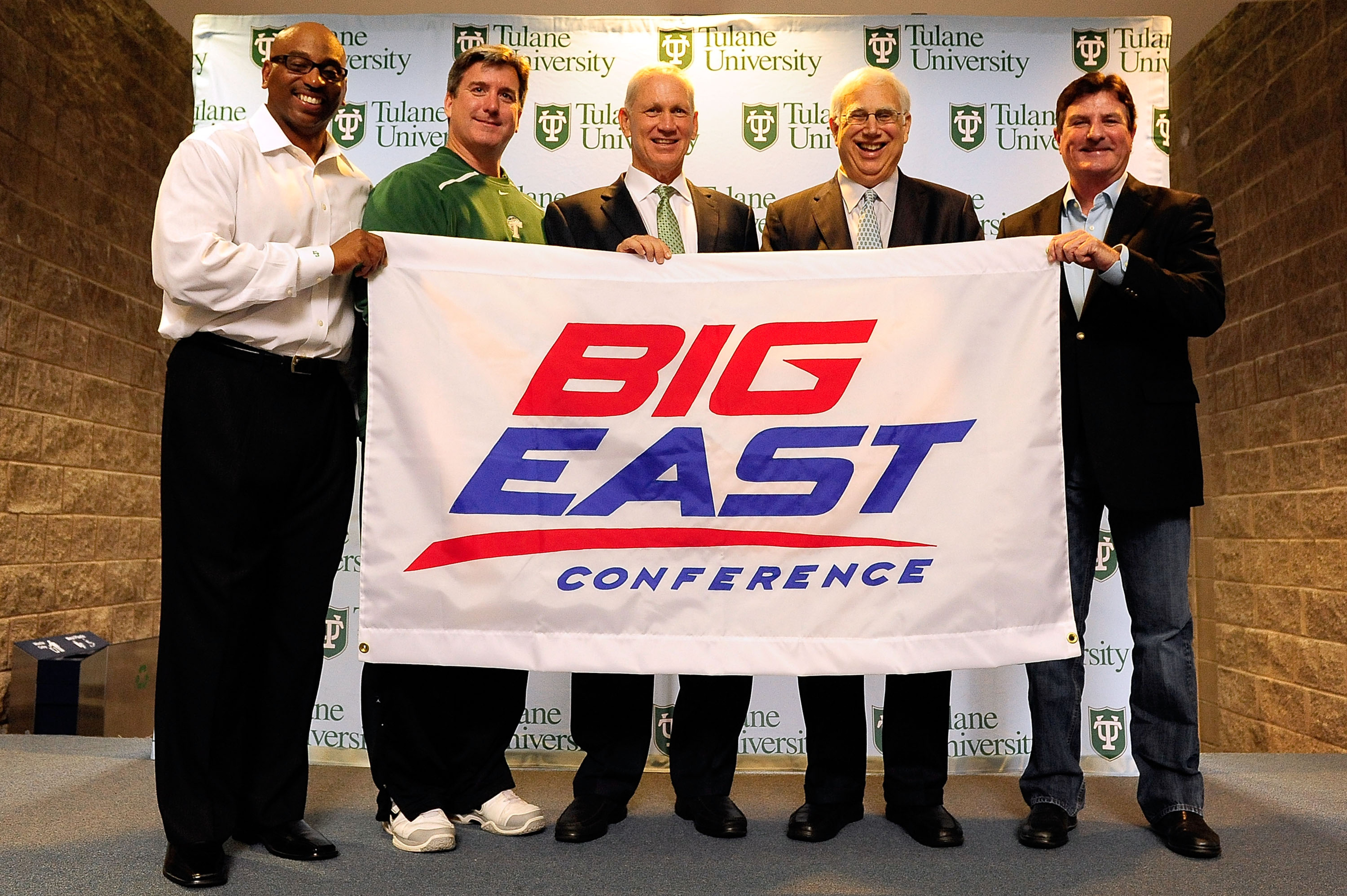 Poor Tulane never got to play in the Big East.