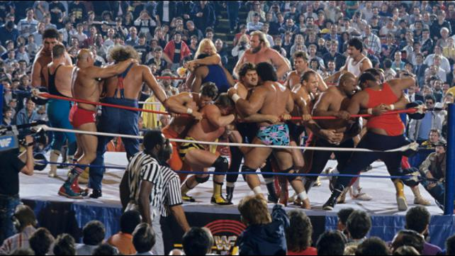 Modern Era Professional Wrestling Style Royal Rumble