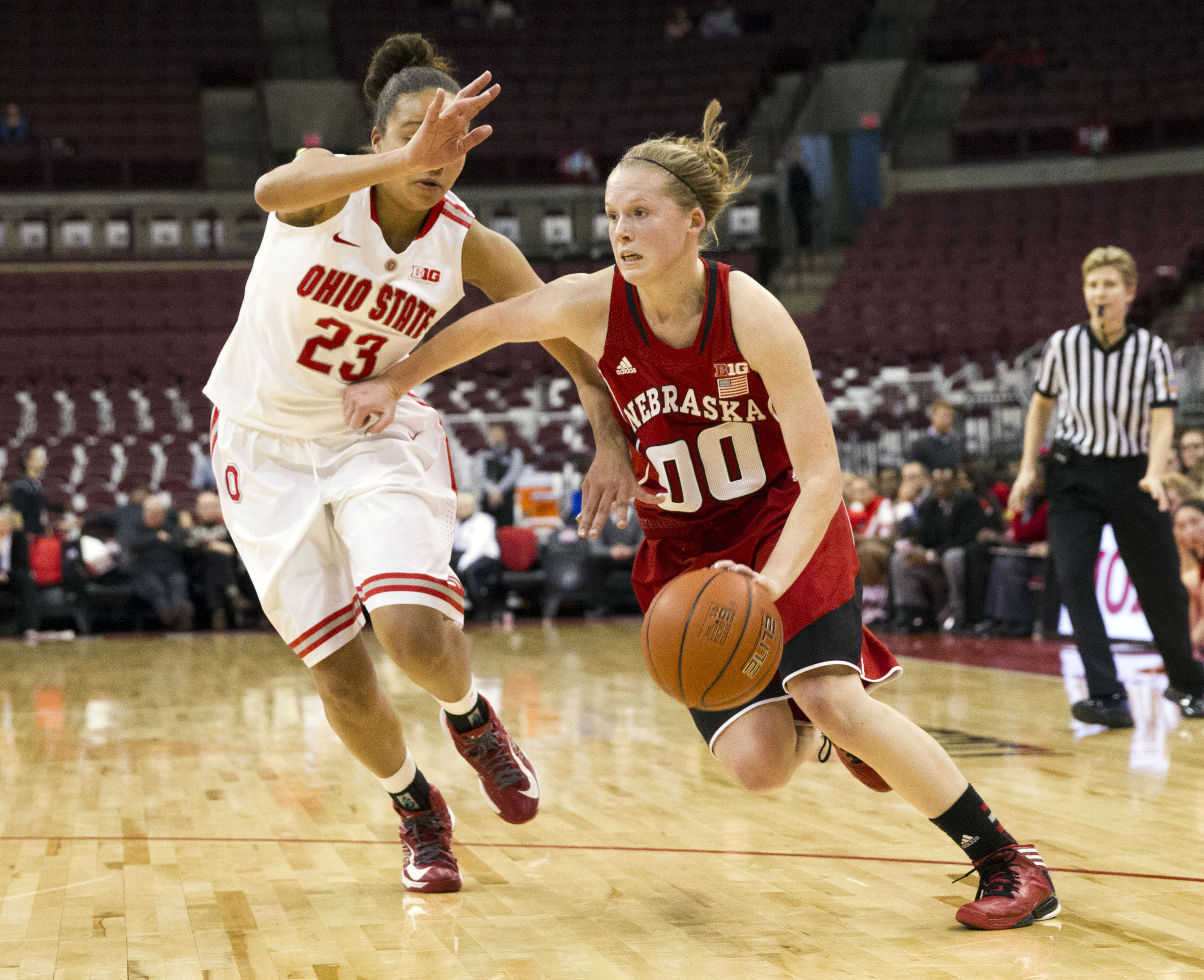 """Nebraska guard Lindsey Moore is considered to be one of the top guards available in the 2013 Draft after the """"Big Three.""""  Could she be a possible """"Plus One"""" type player if drafted onto the right team?"""