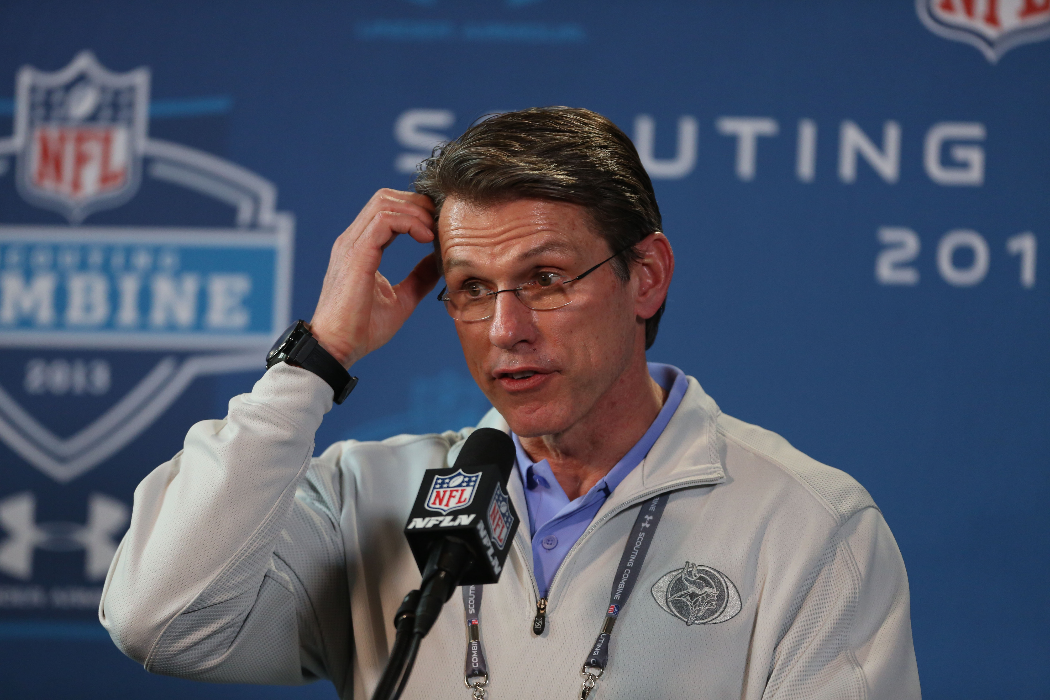 The early moves have fans scratching their head. What does Rick Spielman have in store?