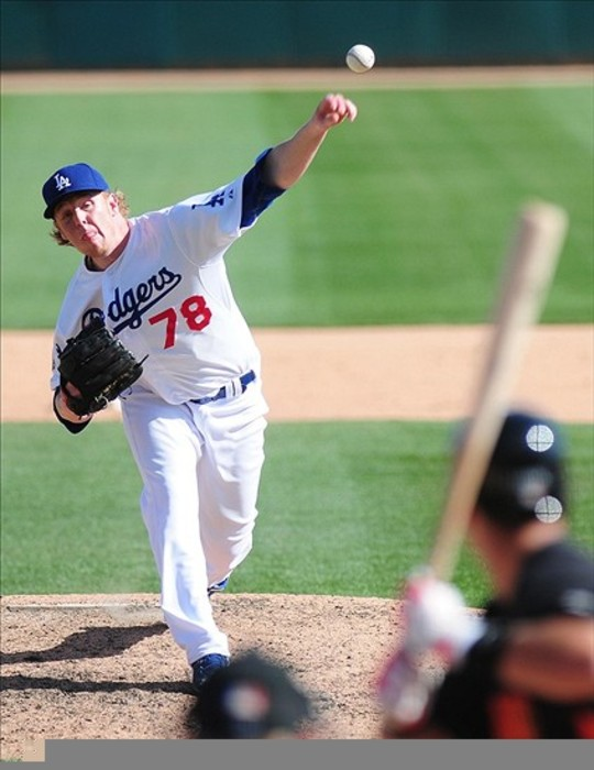 Michael Antonini was called up to the Dodgers twice in 2012, but never made a big league pitch