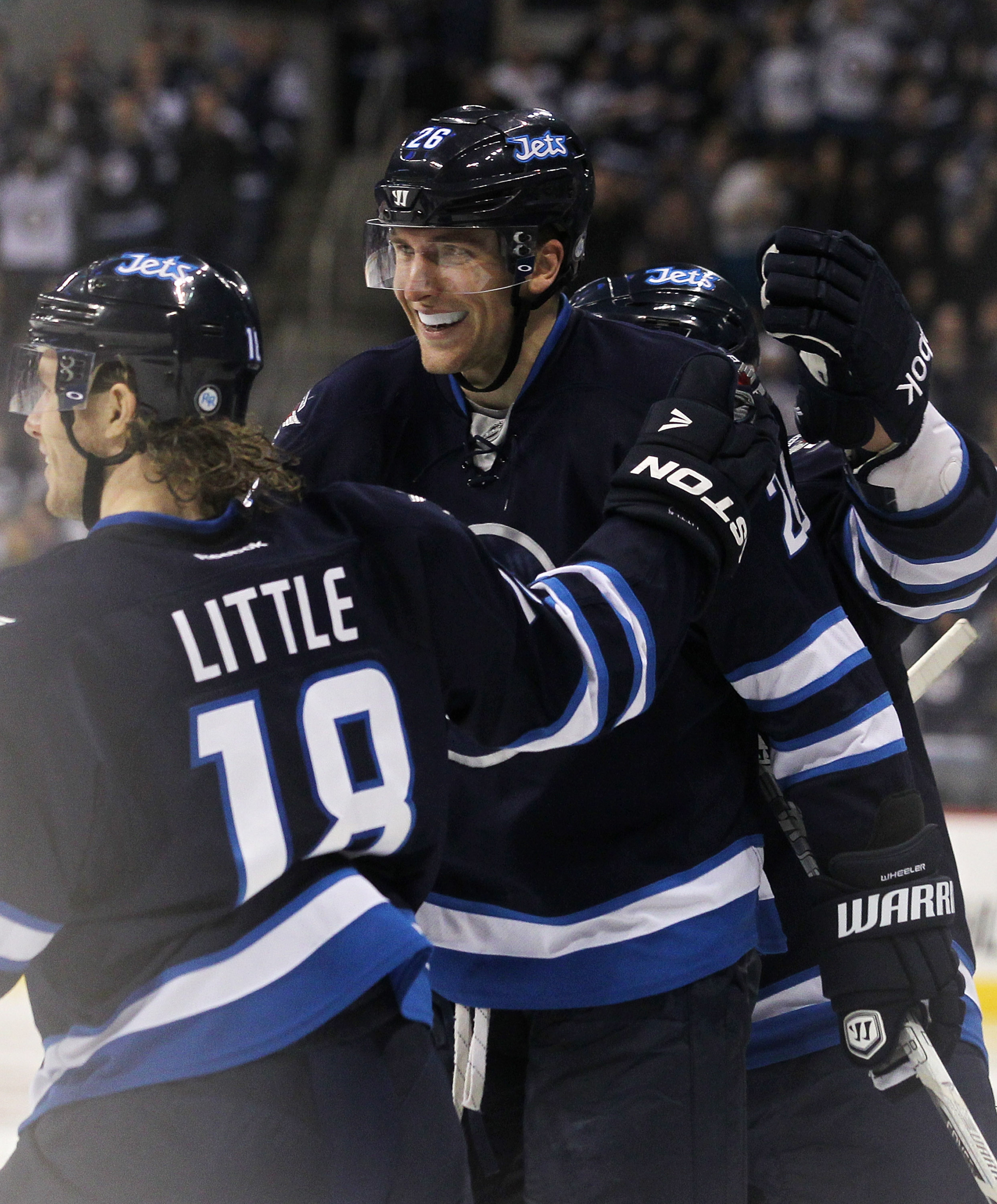 Blake Wheeler and the Jets are smiling pretty at the top of the Southeast standings.