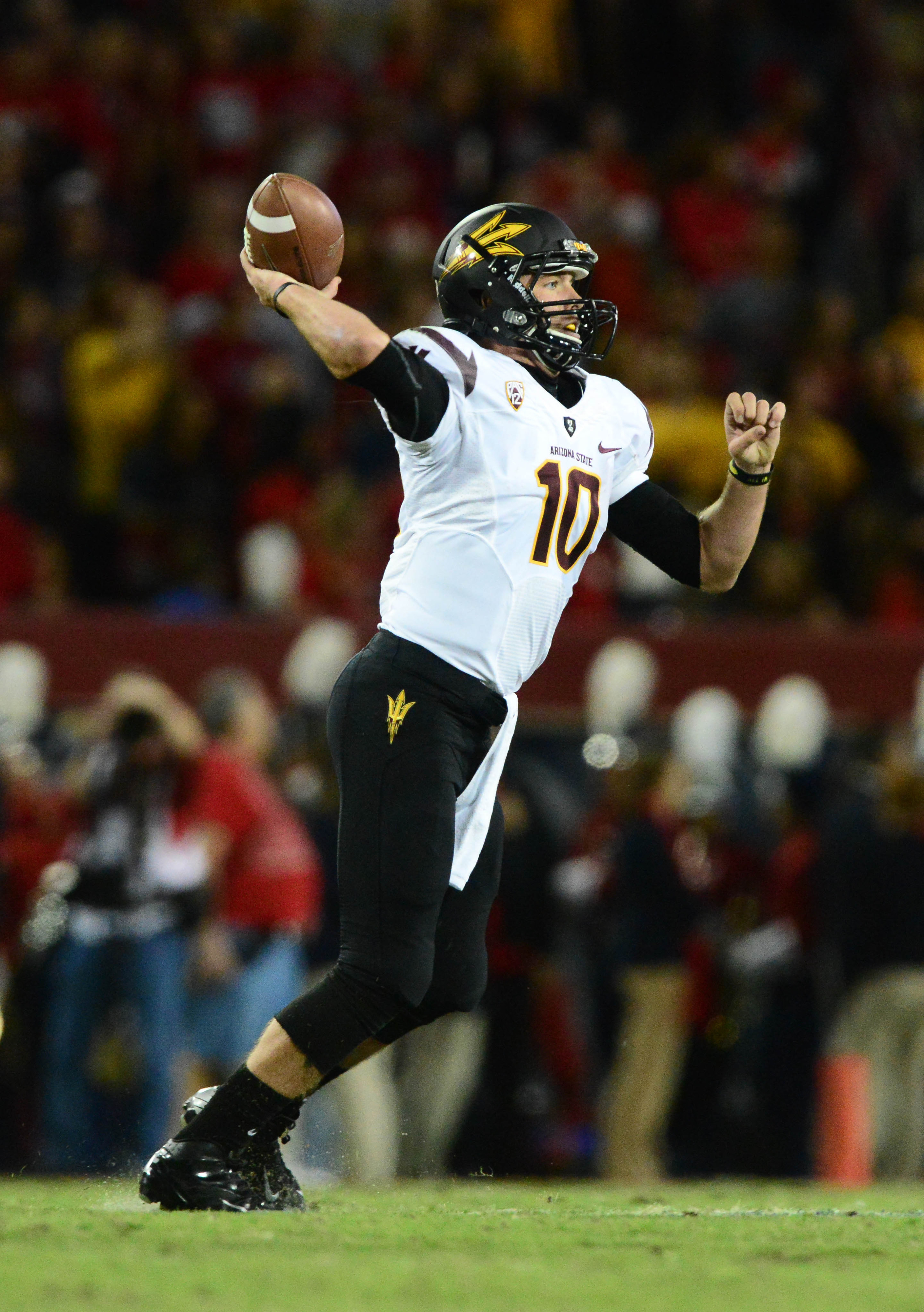 Taylor Kelly enters spring practices as the returning starter for the Sun Devils.