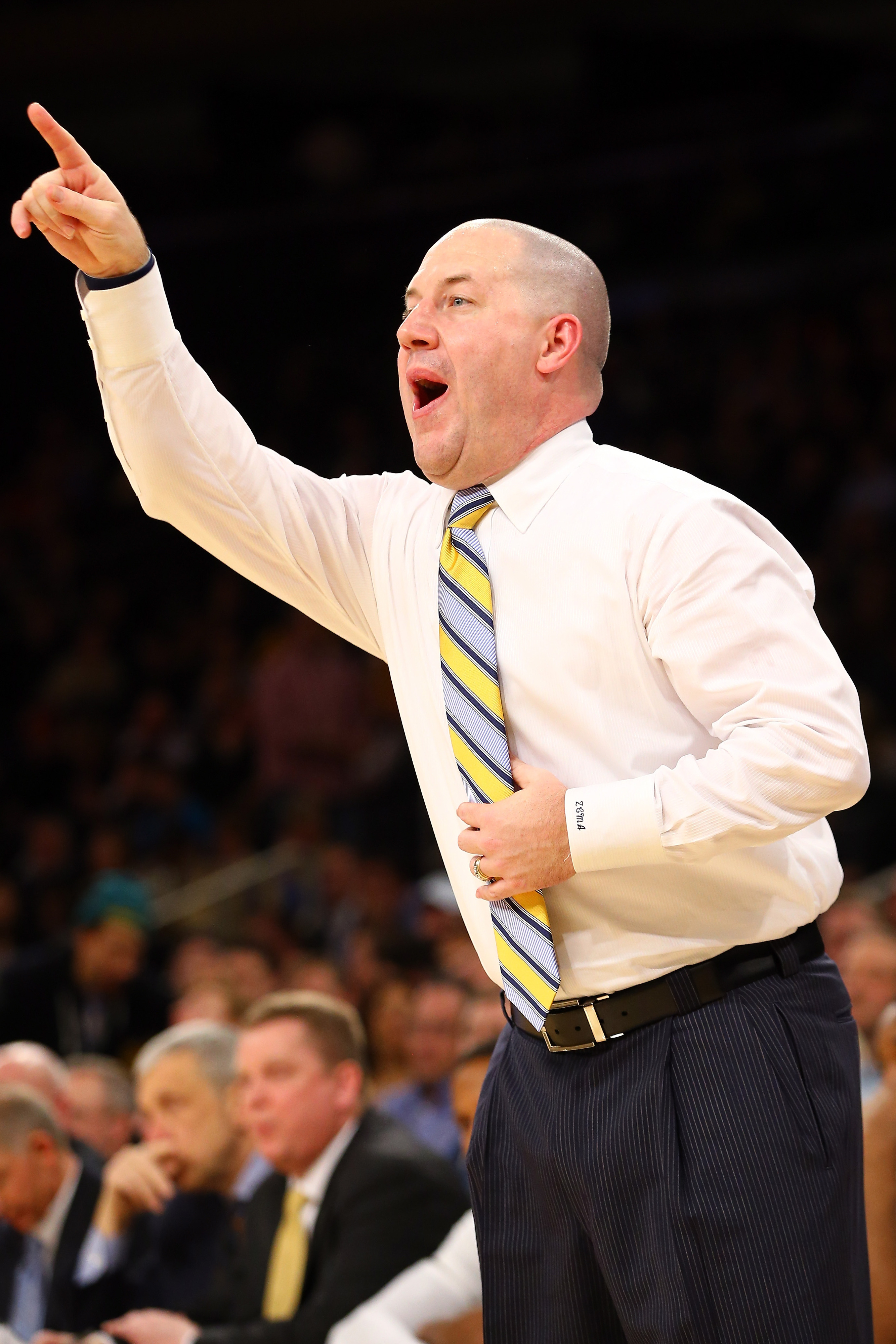 Yes, Buzz, the 3 seed is in the top part of the bracket. Nicely done.